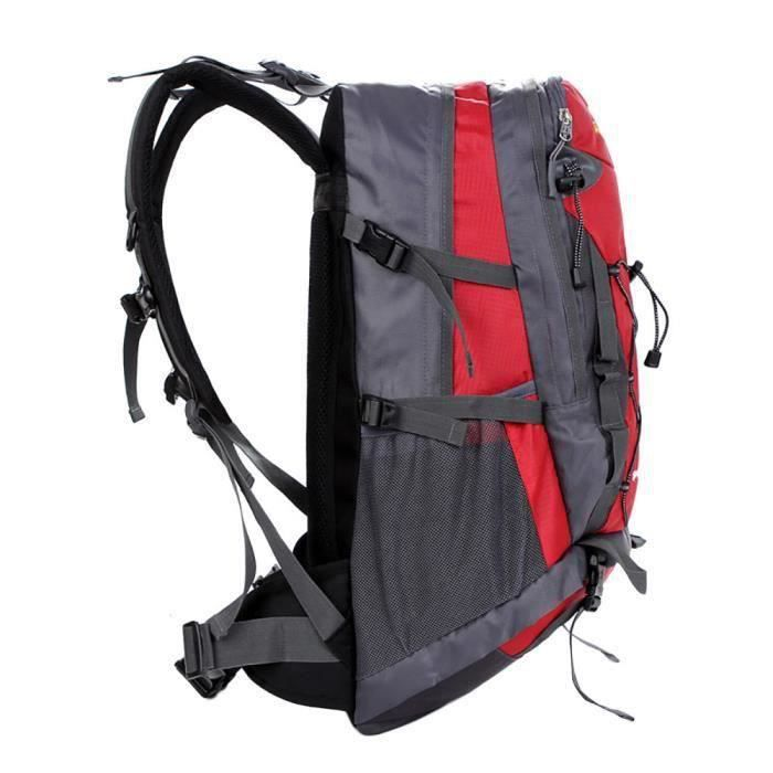 40L Sac à dos extérieur Sac de randonnée Camping Voyage Pack d'alpinisme étanche RD Escalade317