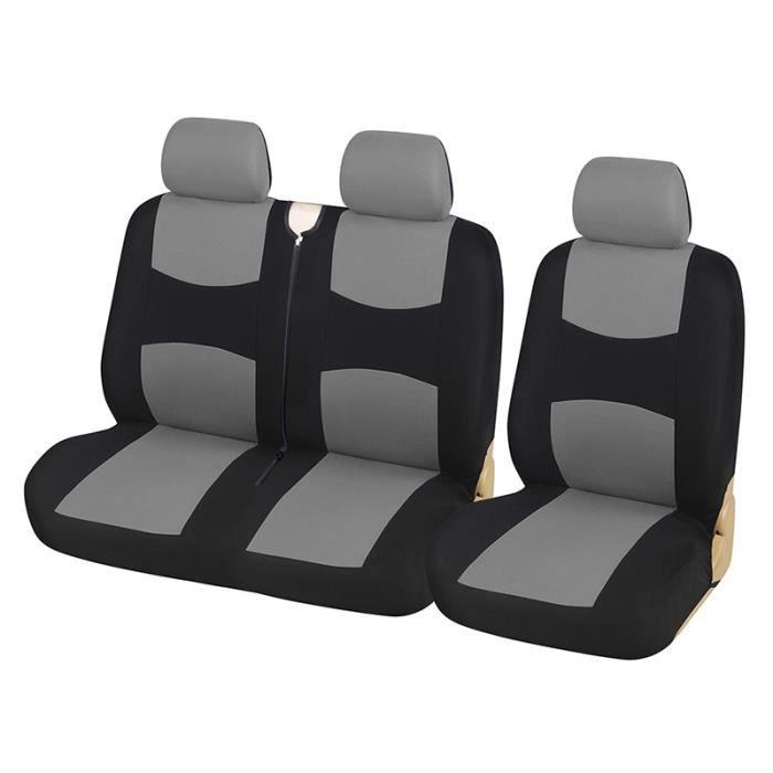Housses de siège universelles pour camion, couvre siège de 1 + 2, couvre siège pour véhicule, pour Ren GRAY