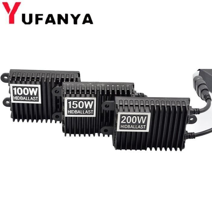 1 piece 150W -Ballast au xénon HID, 75W 100W 150W 200W, 1 pièce, pour H1 H3 H7 H8-H9-H11 9005-HB3 9006-HB4, accessoires de voiture a