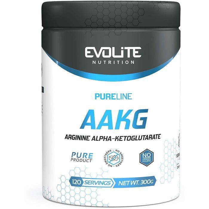 pure line aakg 300g pompe muscles endurance libido testostérone