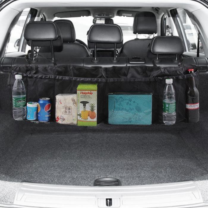 Accessoires auto intérieurs,Style de voiture Coffre Siège Arrière Organisateur Sac Pour Citroen C1 C2 C3 C4 C5 C6 C8 C4L L'elysée