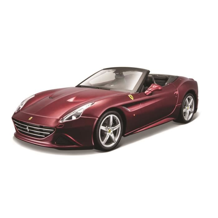 BBURAGO Voiture de collection 1/24 Ferrari Ferrari california t cabriolet