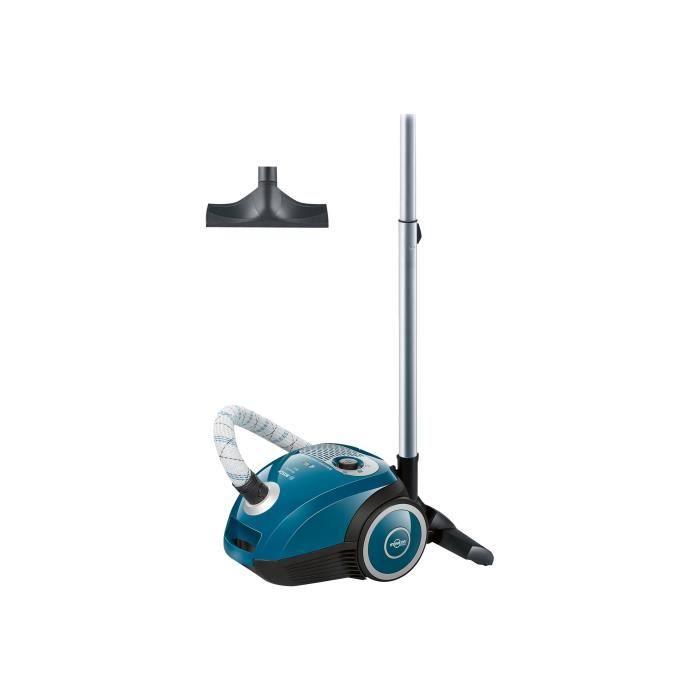 Bosch MoveOn Mini BGL25MON4 Aspirateur traineau sac bleu-noir