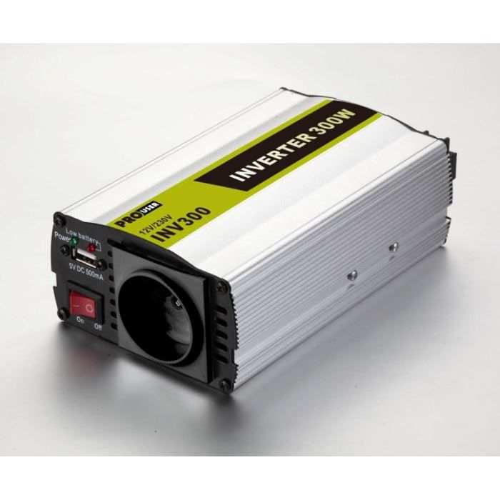 INV300N - Convertisseur de Tension 12V / 220V - 230V 300W