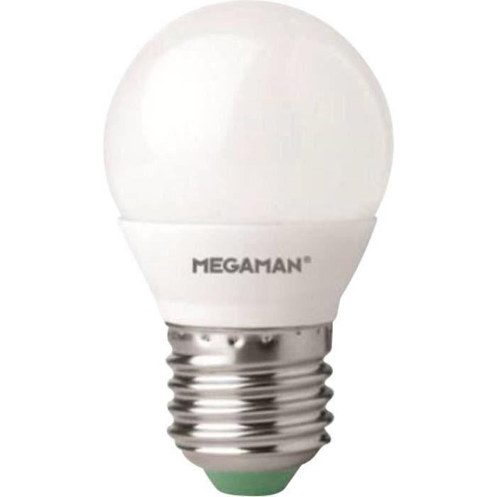 Ampoule fluo compacte E27 7 Watts MEGAMAN
