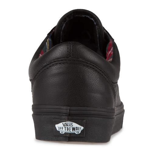 VANS Chaussures Old Skool Leather Noir Femme