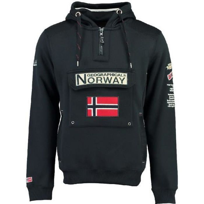 Sweat Homme Geographical Norway Gymclass New B Marine