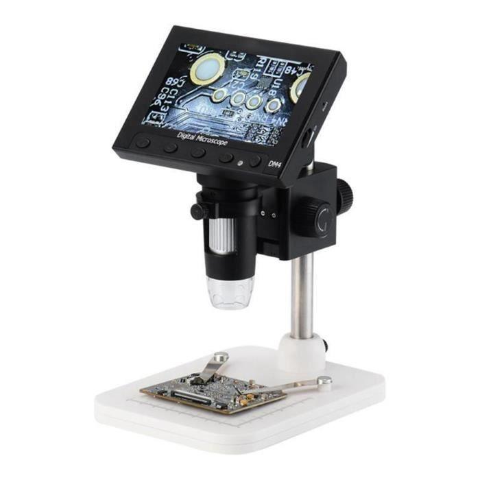 1000X 4.3 pouces 2.0MP USB Digital Microscope électronique LoupeLCD Caméra Vidéo 8LED