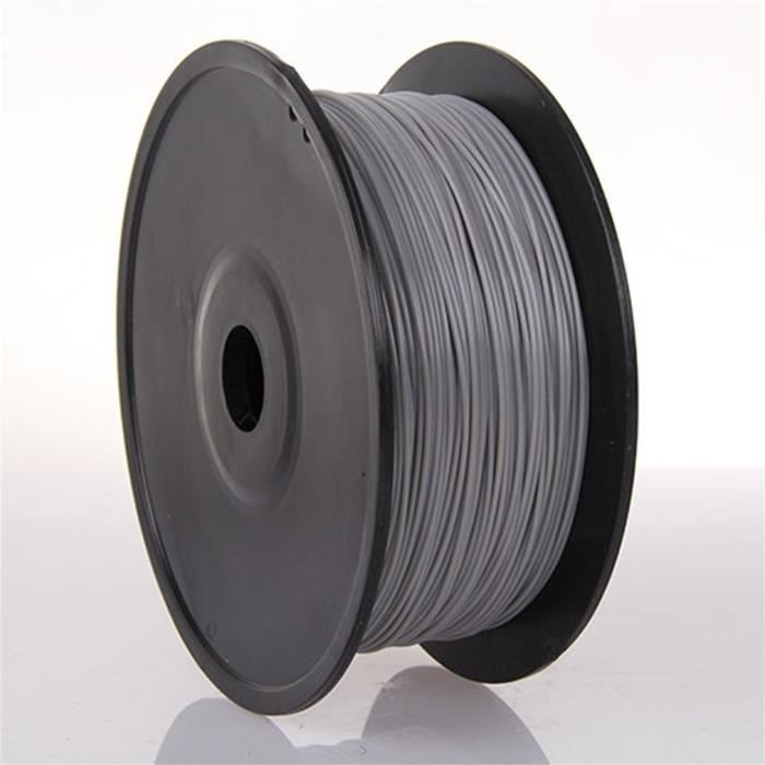 1.75mm 1kg 300m Filament de Pla fil d'impression 3D Diy gris