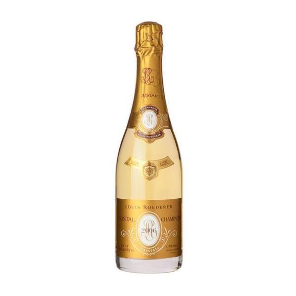 6x Roederer Cristal Brut - Champagne - 2009
