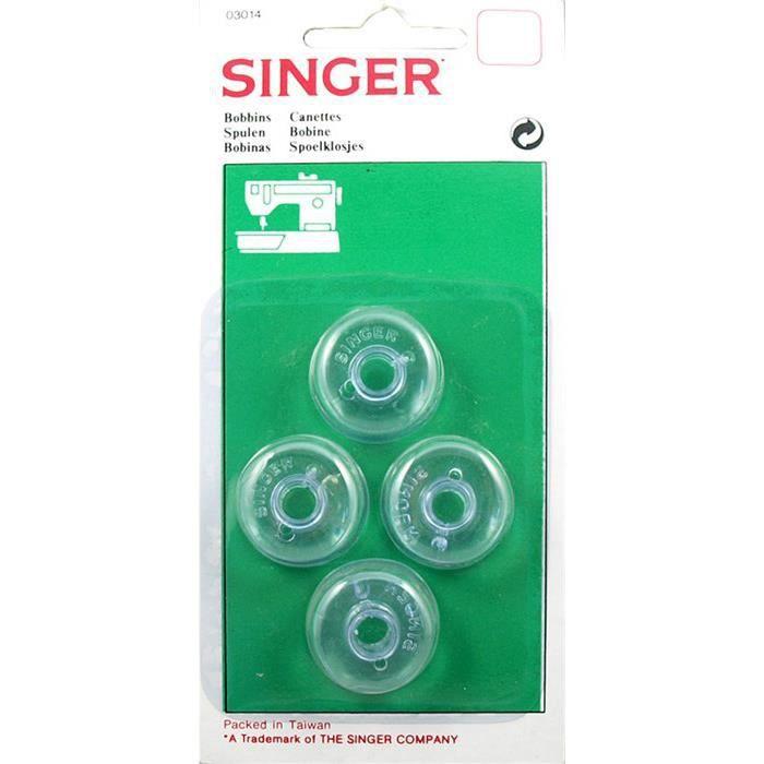 4 Cannetes Singer de machine à coudre 257/367/400