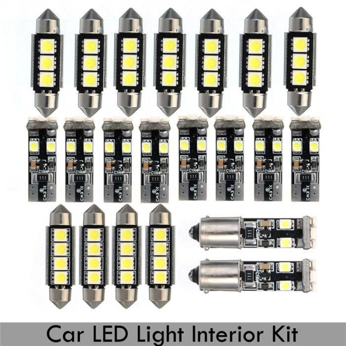 TEMPSA kit 21pcs x LED Ampoule Canbus Lampe Lumière Pour BMW E46 Sedan M3 1999-2005