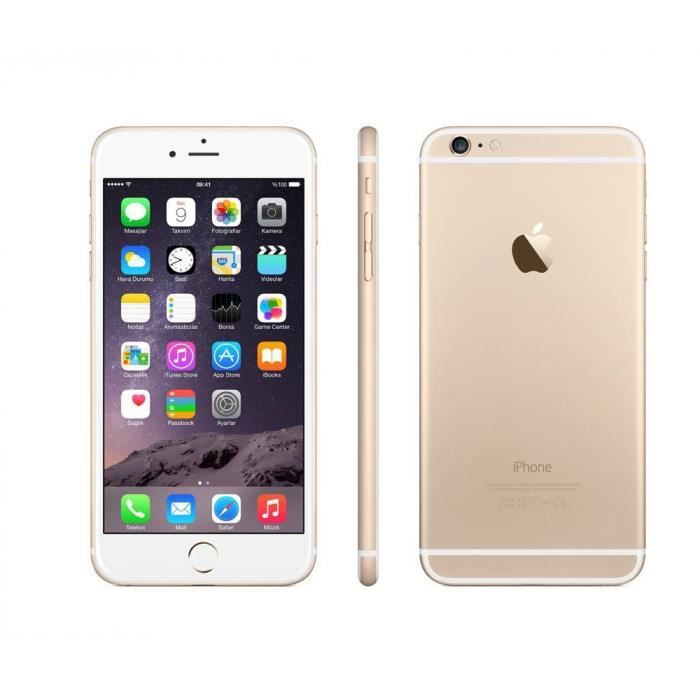 SMARTPHONE RECOND. APPLE iPhone 6 Plus 16 Go Gold Smartphone recondit