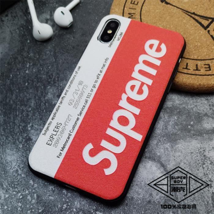 supreme coque iphone x supreme rough
