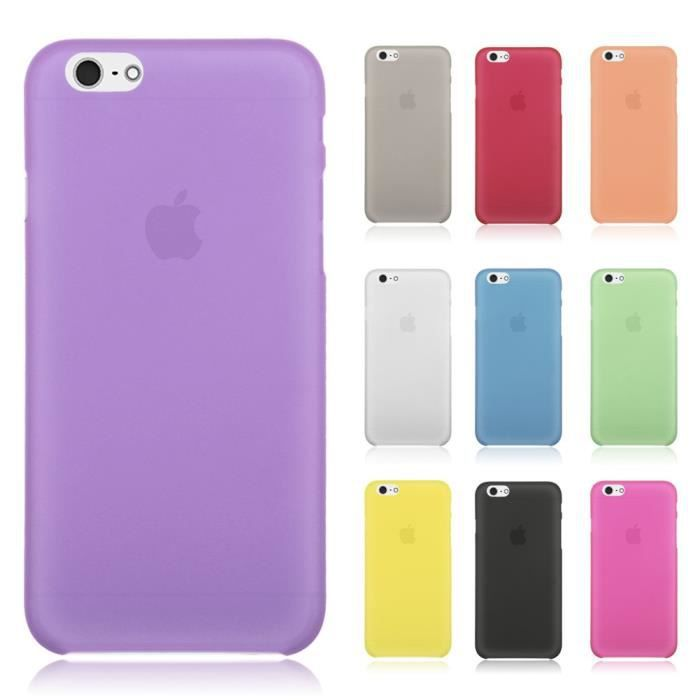 lot 6 coques iphone 6 6s plus 5 5 mix couleurs u