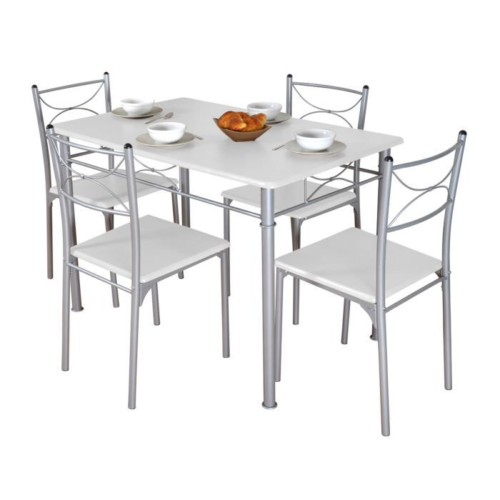 Chaise de cuisine cdiscount for Ensemble table et chaise de cuisine