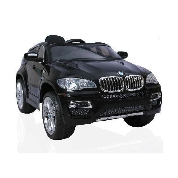 voiture lectrique 12v bmw x6 noir m talllis achat vente voiture enfant cdiscount. Black Bedroom Furniture Sets. Home Design Ideas