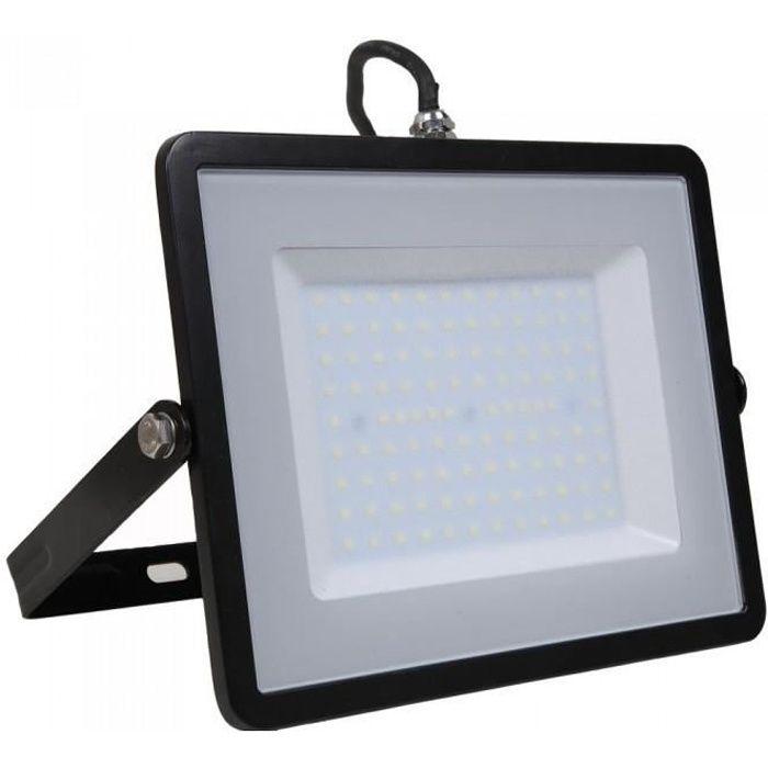 100W LED Lumi/ères Dinondation 8000lm Super Lumineux 6500K Blanc Chaud Projecteurs IP65 /Étanche Ext/érieure Ultra Mince Lampe dInondation pour Jardin Paysage Parking Lot H/ôtel