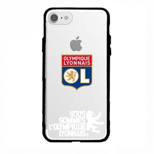 Coque iPhone 7 PLUS et iPhone 8 PLUS OL Olympique Lyonnais