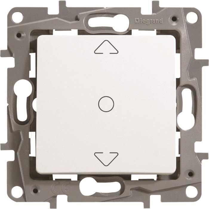 Legrand LEG96611 Interrupteur Volet Roulant /éclat Niloe