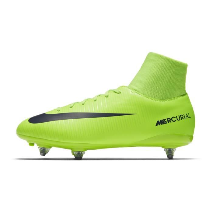 Chaussures football Nike Mercurial Victory VI SG Vert Junior