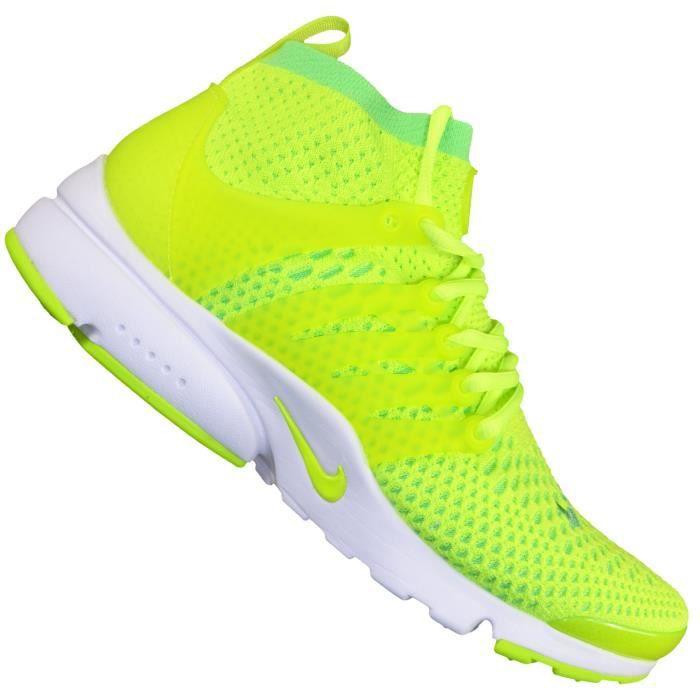shopping meet another chance Nike - Basket Sneaker - Homme - Presto Flyknit Ultra - Jaune ...