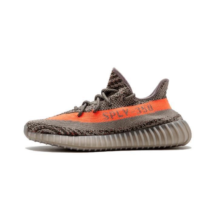Adidas Yeezy Boost 350 V2 Gris Orange Chaussures de course à