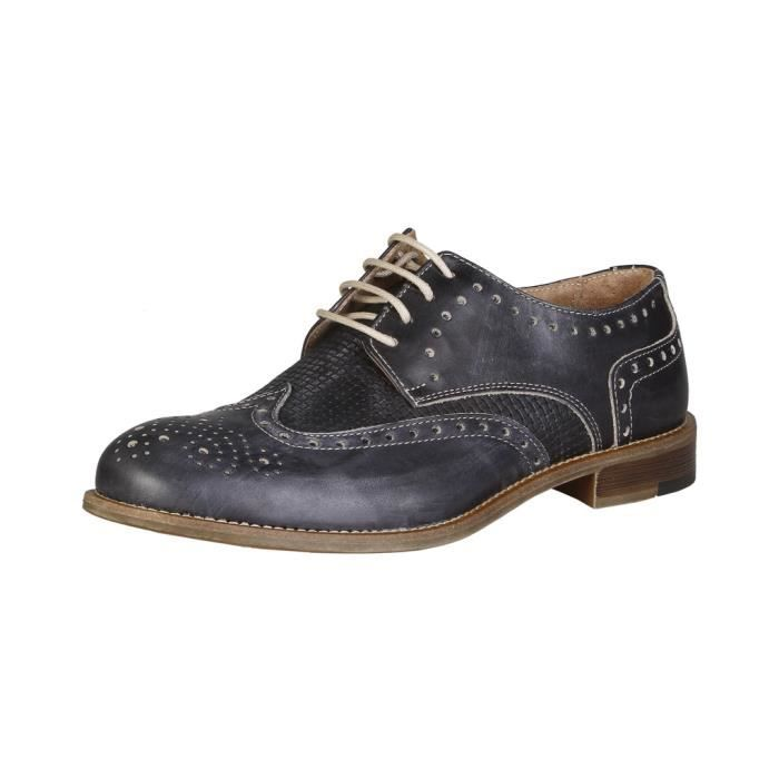 Made in Italia - Chaussures à lacet pour homme (LIVIO_FUMO) - Gris D71gY