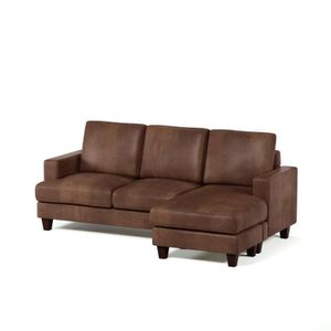 Canape d angle chesterfield achat vente canape d angle for Divan 5 places