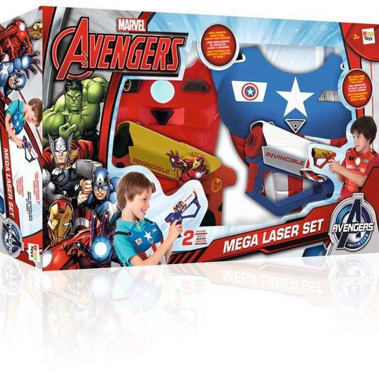 NEUF IMC Avengers Mega Laser Set Enfants Garçons Play Set