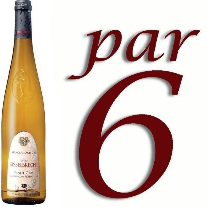 Gisselbrecht 2014 Pinot Gris Grand Cru Franksein - Vin blanc d'Alsace