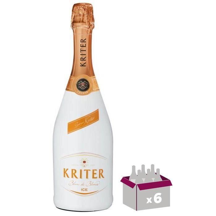 Kriter Ice demi-sec - Vin effervescent blanc