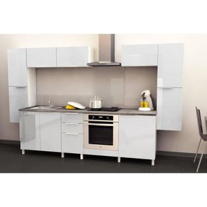 Meuble sous evier complet achat vente meuble sous for Cuisine complete taupe