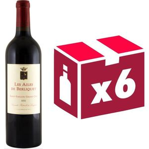 VIN ROUGE Les Ailes de Berliquet Grand Cru Second Vin de ...