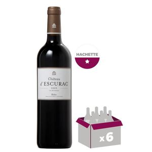 VIN ROUGE Château D'escurac 2011 Médoc - Vin rouge de Bordea