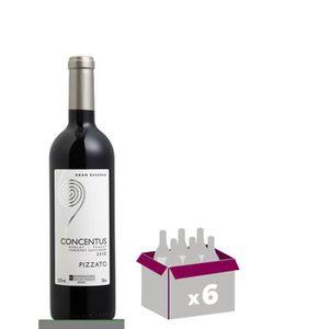 VIN ROUGE Pizzato 2011 Concentus - Vin rouge d'Amérique du S
