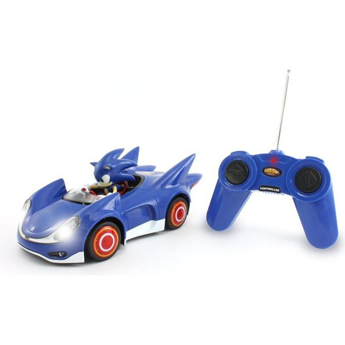 VOITURE - CAMION Sonic Véhicules radiocommandé + figurine Sonic