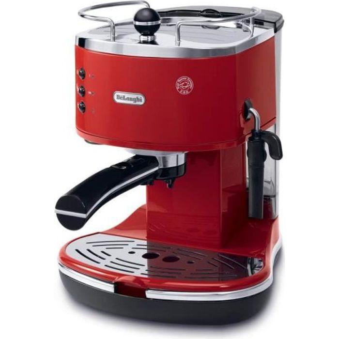 DELONGHI ECO 311.R Machine expresso classique Icona - Rouge
