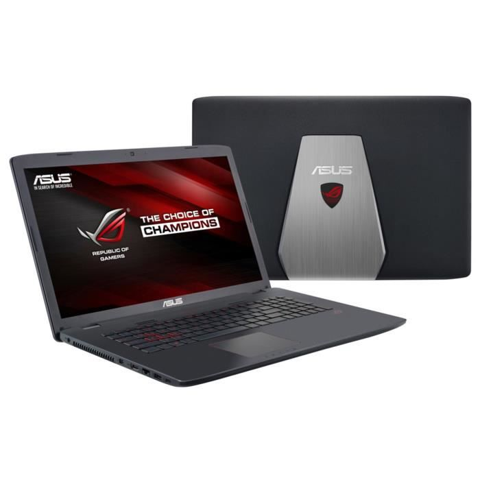 asus rog pc portable gamer gl742vw t4411t 17 3 8go ram. Black Bedroom Furniture Sets. Home Design Ideas