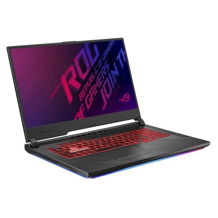 ORDINATEUR PORTABLE PC Portable gamer ROG-ASUS STRIX3-G-G731GU-EV011T