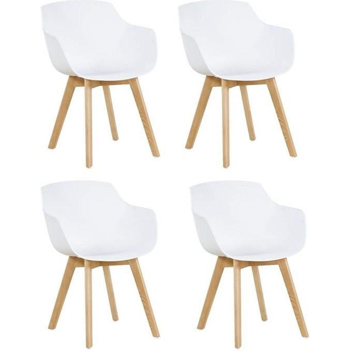 Comment Nettoyer Des Chaises En Plastique Blanc chaise fauteuil blanc salle a manger