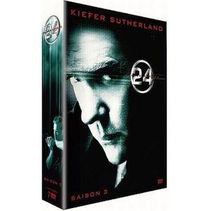 DVD SÉRIE DVD 24 heures chrono, saison 3