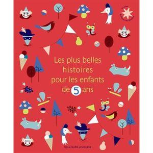 Livre 3-6 ANS Les plus belles histoires pour les enfants de 5 an
