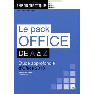 MANUEL BAC PRO BEP CAP Le pack Office 2010 de A à Z