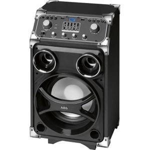 ENCEINTE NOMADE AEG 4829 Enceinte Karaoke Bluetooth / MP3 / 2 USB