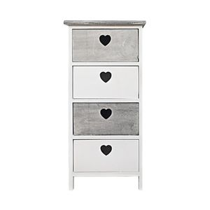 meuble shabby chic achat vente meuble shabby chic pas cher soldes cdiscount. Black Bedroom Furniture Sets. Home Design Ideas