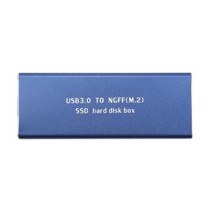 DISQUE DUR EXTERNE Candydier Disque dur mobile USB3.0 à M.2 (AM) - 12