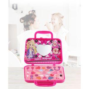 TABLE JOUET D'ACTIVITÉ Cosmétiques Pour Enfants Princesse Maquillage Boît