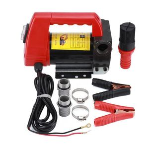 POMPE À GRAISSE Pompe portable pompe à fioul et diesel 12V 2400L /