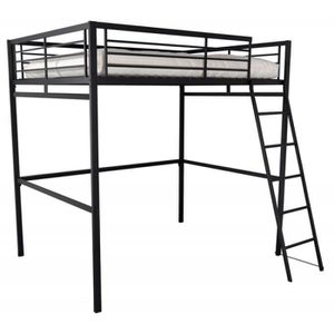 lit mezzanine m tal achat vente lit mezzanine m tal. Black Bedroom Furniture Sets. Home Design Ideas